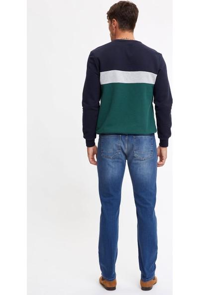 Defacto Erkek Sergio Regular Fit Jean Pantolon