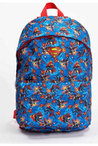 DeFacto Superman Lisanslı Okul Çantası R5649A620AU