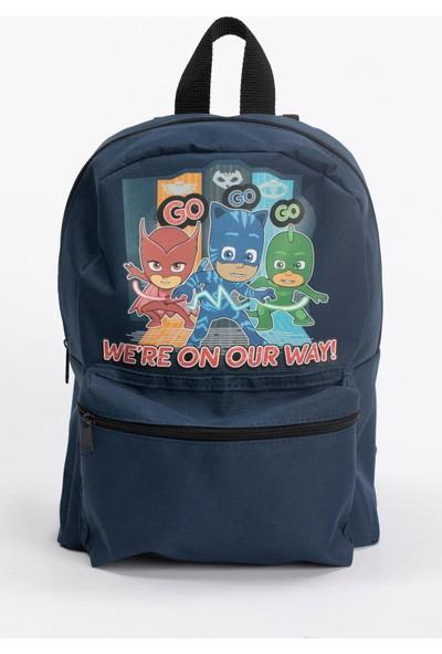 DeFacto Erkek Çocuk Pijamaskeliler Lisanslı Okul Çantası R5732A620AU