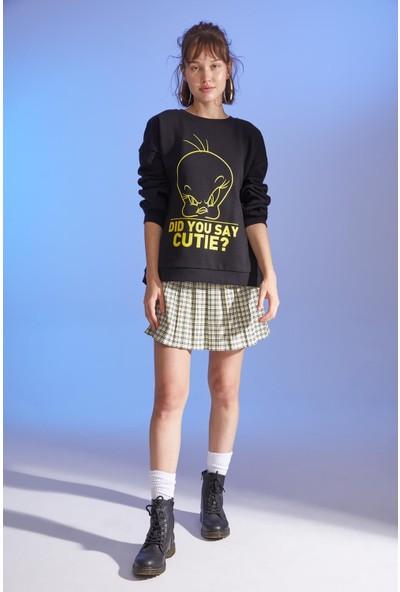 DeFacto Tweety Lisanslı Sweatshirt S6380AZ20AU