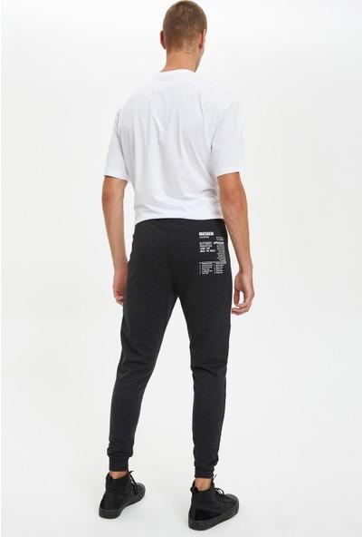 DeFacto Slim Fit Blog Desenli Jogger Eşofman Altı R6866AZ20AU