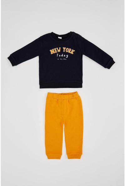 Defacto Erkek Çocuk Jogger Eşofman Ve Sweatshirt Takım
