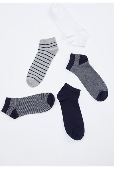 Defacto Erkek 5'Li Kısa Çorap