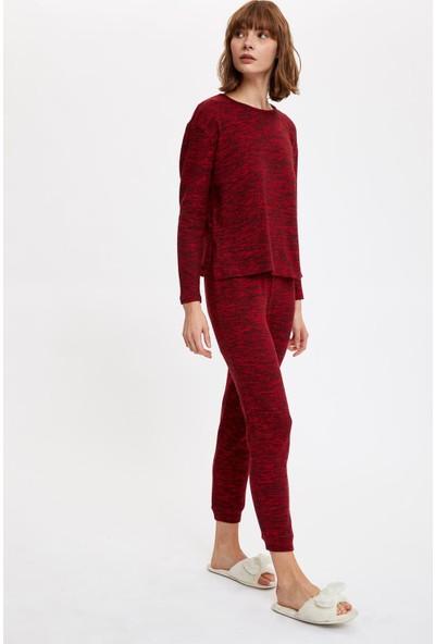 Defacto Kadın Basic Pijama Takımı