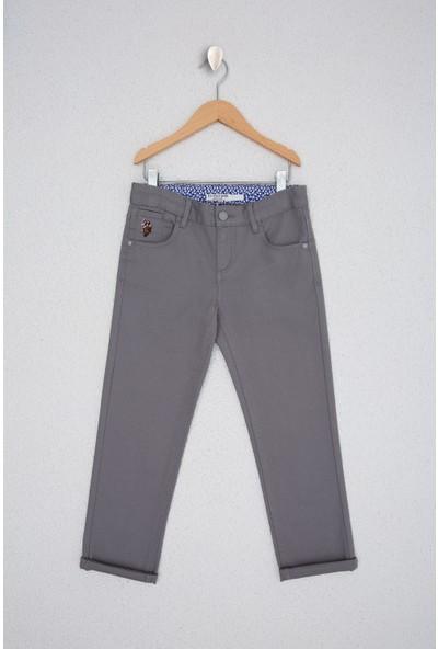 U.S. Polo Assn. Erkek Çocuk Gri Chinos 50218313-VR024