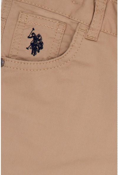 U.S. Polo Assn. Erkek Çocuk Beyaz Chinos 50219475-VR085