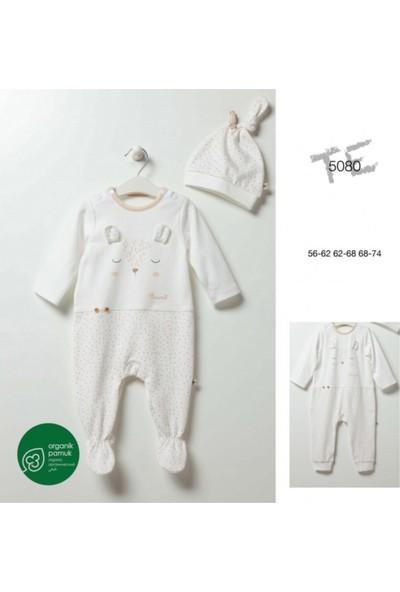 Caramell 5080 Kız Bebek Tulum