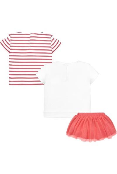 Mayoral Yazlık 3'lü Kız Bebek Bluz Etek