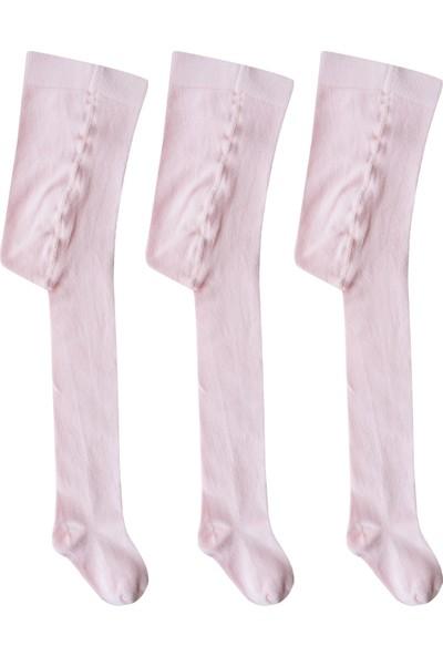 Olay Socks 3'lü Çocuk Külotlu ÇORAP-9.01.0004PMBE3LU Pembe 7 - 9 Yaş