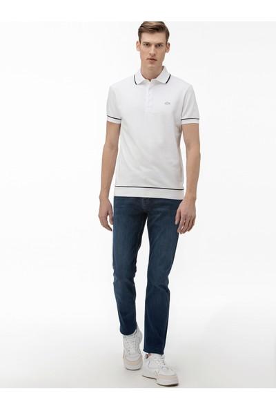 Lacoste Slim Fit Jeans Erkek Kot Pantolon Hh0010 10L