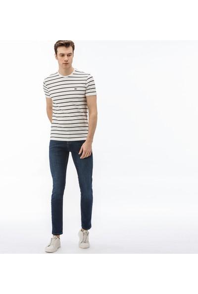 Lacoste Slim Fit Jeans Erkek Kot Pantolon Hh0950 50L