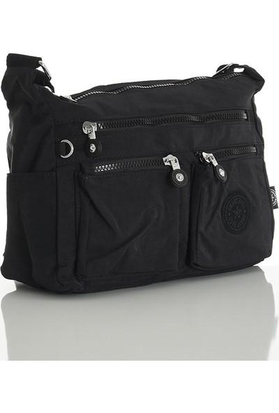 Smart Bags Siyah Kadın Çapraz Çanta 2022-3065-0001