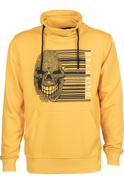 Bad Bear Fıngerprınt Sn Mustard Sweat Shirt
