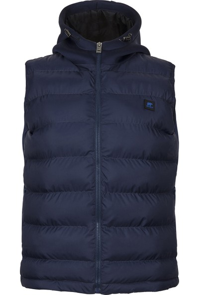 Bad Bear Heater Vest Navy Yelek