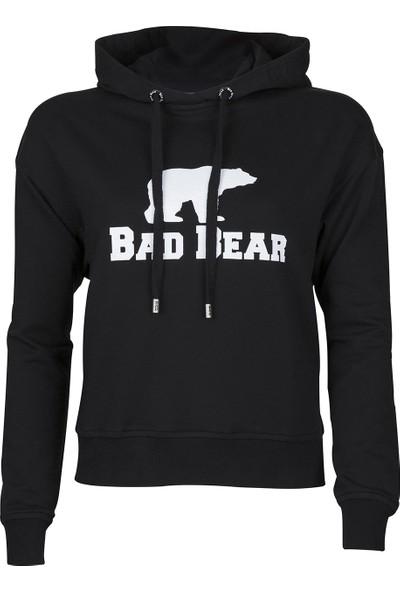 Bad Bear Bad Bear Crop Night Sweat Shirt