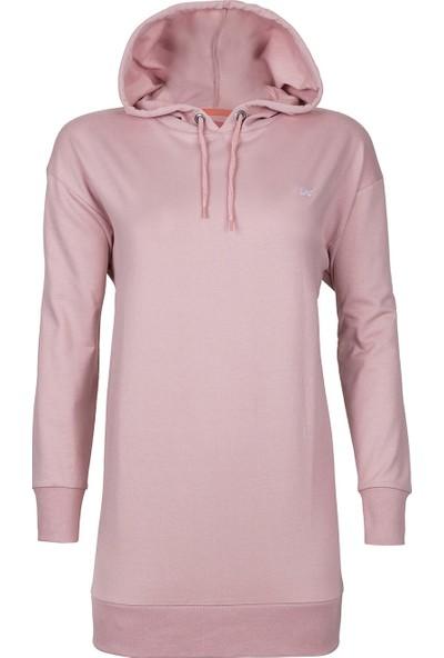 Bad Bear Mono Color Hoodie Blush Sweat Shirt