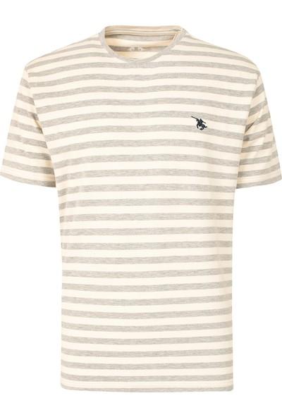 D'S Damat Regular Fit Bej T-Shirt
