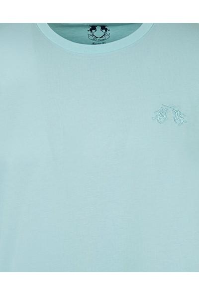 D's Damat Regular Fit Mint T-Shirt
