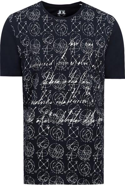 D's Damat Regular Fit Lacivert T-Shirt
