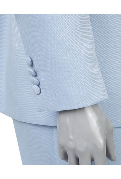 D's Damat Slim Fit Mavi Takım Elbise