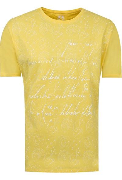 D's Damat Regular Fit Sarı T-Shirt