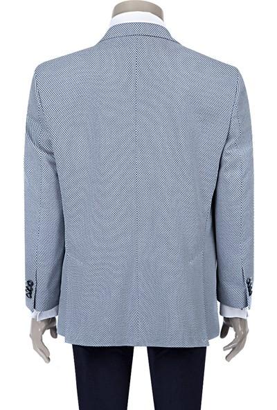 D's Damat Comfort Ceket Mavi