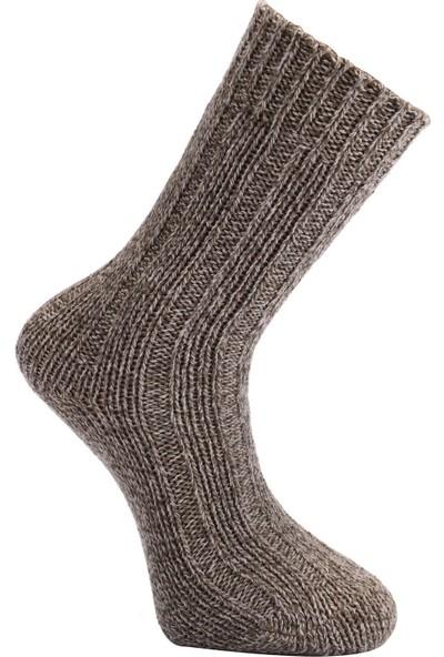 Tüter Örgü Desenli Koyu Mavi Erkek Çorap