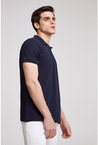 D'S Damat Erkek Regular Fit Tshirt Lacivert