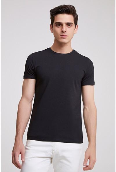 D'S Damat Slim Fit Yuvarlak Yaka Erkek T-Shirt