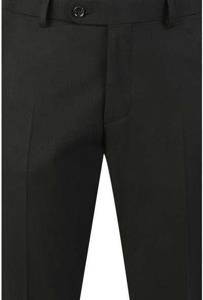 D'S Damat Siyah Kumaş Pantolon