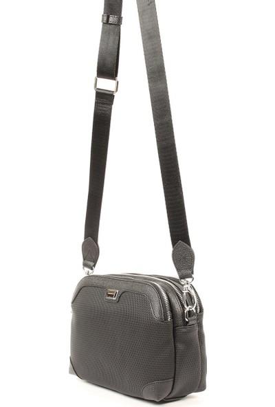 Silver & Polo Kadın Çapraz Çanta Siyah 968