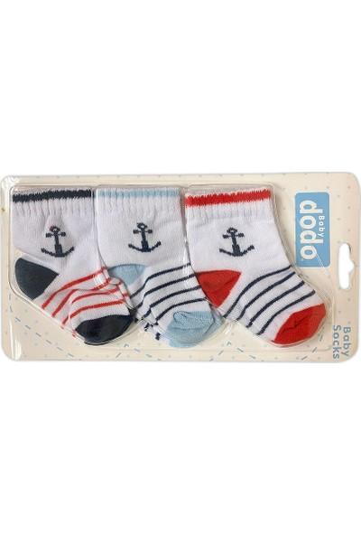 Baby Dodo AY775 Bebek Çorabı 3'lü