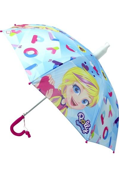 Poly Pocket Lisanslı Çocuk Şemsiyesi