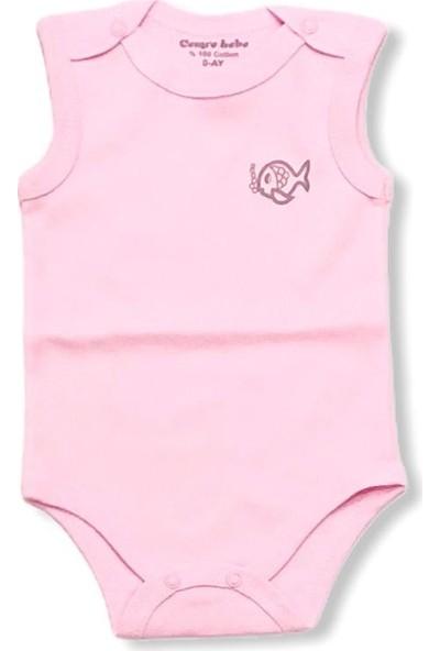 Cemre Bebe Pamuklu Yeni Doğan Üçlü Kız Bebek Zıbın Takımı Pembe