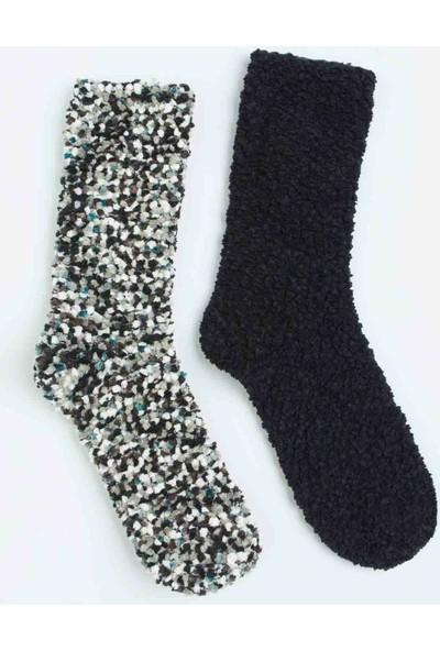 Penti Çok Renkli Dark 2'li Soket Çorabı