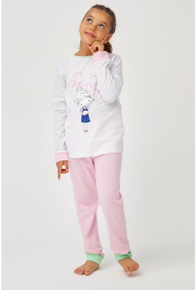 Penti Çok Renkli Kız Çocuk Artist 4'lü Pijama Takımı