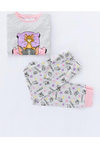 Penti Çok Renkli Kız Çocuk Tom&jerry 2'li Pijama Takımı