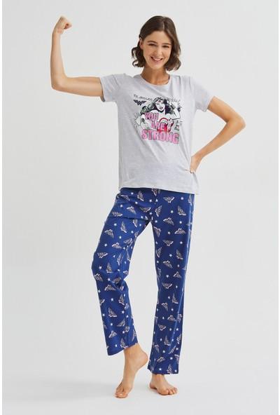 Penti Çok Renkli Strong Pijama Takımı
