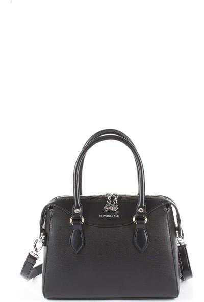 Silver & Polo Kadın El Çantası Siyah 995