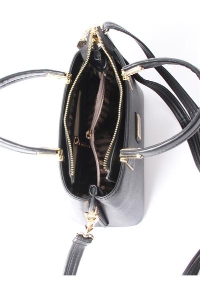 Silver & Polo Kadın El Çantası Bizon Taba 987