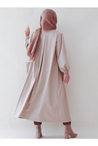 Sümeyra Küçükşahin Camel Cep Detaylı Ceket