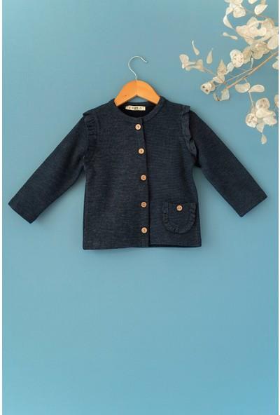 Cigit Fırfırlı Özel Kumaş Ceket