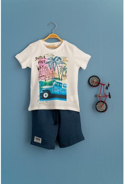 Cigit Roadtrip 2'li T-Shirt ve Şort 2'li Takım