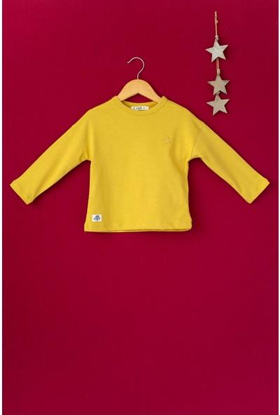 Cigit Yıldız Nakışlı Mevsimlik Sweatshirt