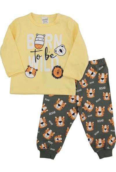 Dandini Kaplanlı Erkek Bebek Pijama Takım
