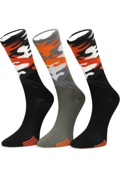 Lumberjack Camo Siyah Çorap