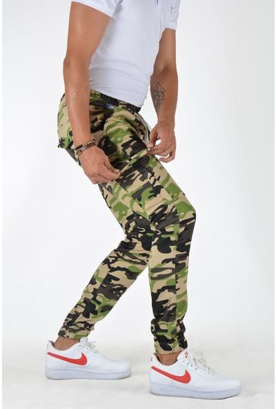 Terapi Men Erkek Kargo Cepli Pantolon 20K-2600044 Kahverengi