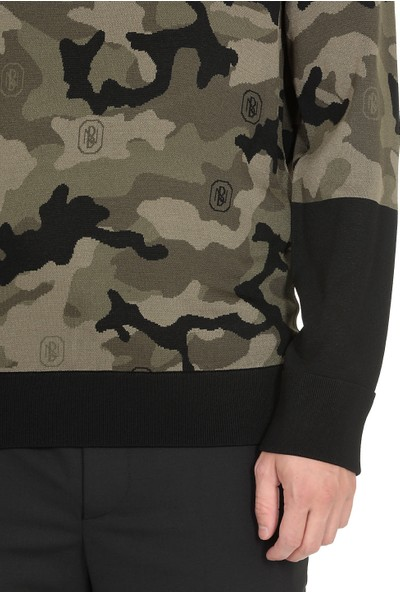 Neil Barrett Erkek Sweatshirt PBMA1103J-P607C-2767