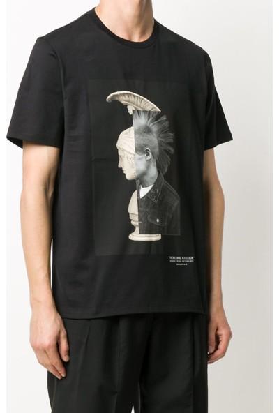 Neil Barrett Erkek T-Shirt PBJT793B-P508S-1357