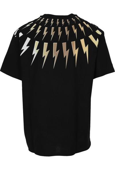 Neil Barrett Erkek T-Shirt PBJT799S-P514S-516